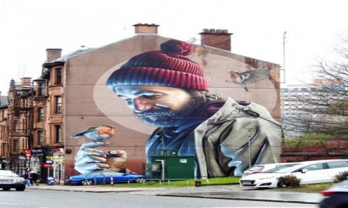 Zdjecie SZKOCJA / Glasgow / Glasgow / Mural
