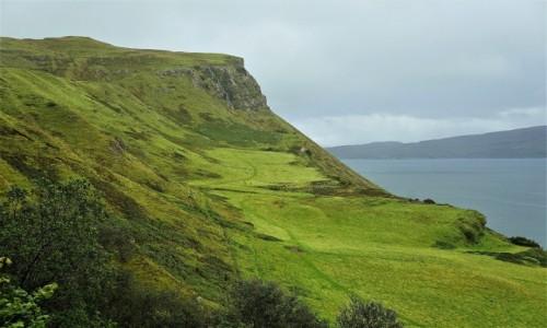 Zdjęcie SZKOCJA / Wyspa Skye / Portree / Zielone ścieżki