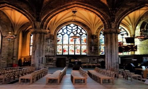 Zdjecie SZKOCJA / Edynburg / Katedra św. Idziego  / Nawa boczna