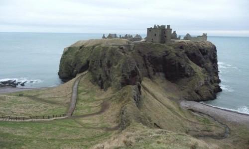 Zdjęcie SZKOCJA / - / Aberdeen / Dunnottar castle