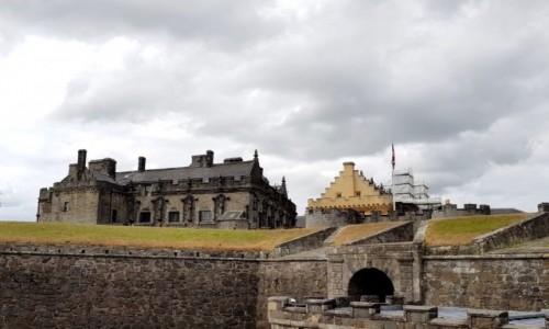 Zdjęcie SZKOCJA / Stirling / Stirling Castle / Widok na zamek