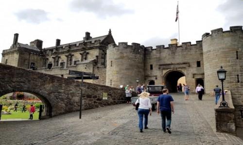 Zdjęcie SZKOCJA / Stirling / Stirling Castle / Budynek bramny, do zamku