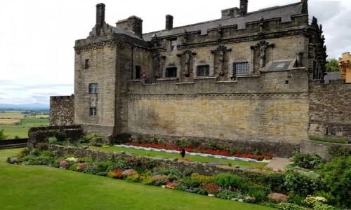 Zdjęcie SZKOCJA / Stirling / Stirling Castle / Ogrody pod murami