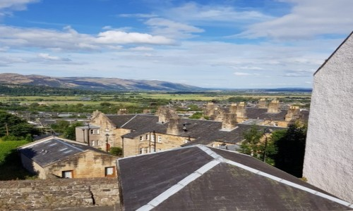 Zdjęcie SZKOCJA / Stirling / Stirling Castle / Zabudowa poniżej zamku.
