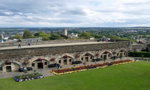 Zdjecie SZKOCJA / Stirling / Stirling Castle / Dolna część zamku