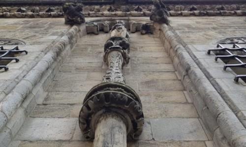 Zdjęcie SZKOCJA / Stirling / Stirling Castle / Ozdoby na fasadach budynków zamkowych