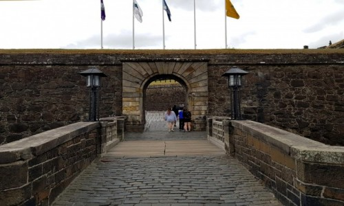 Zdjęcie SZKOCJA / Stirling / Stirling Castle / Druga brama