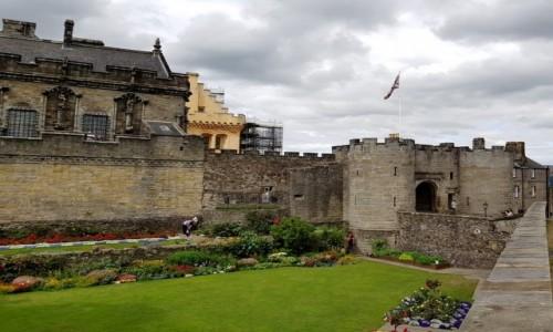 Zdjęcie SZKOCJA / Stirling / Stirling Castle / Za dolnymi murami