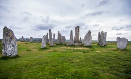 Zdjecie SZKOCJA / isle of lewis / callanish standing stones / kamienie tajemnic