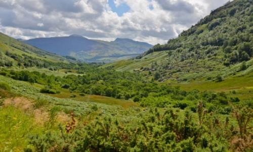 Zdjecie SZKOCJA / Okolice Callander / Pass of Leny / Na przełęczy