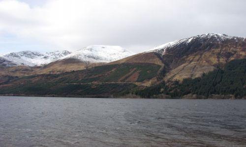 Zdjęcie SZKOCJA / higland /  droga A-82 / w drodze nad Loch Ness