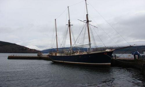 Zdjecie SZKOCJA / higland / Inverary   - Loch Shira / odpoczynek w porcie