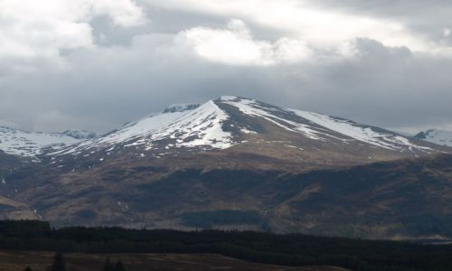 Zdjęcie SZKOCJA / Highlands / Highlands / Widok na Ben Nevis