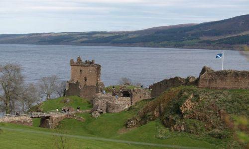 Zdjęcie SZKOCJA / Highlands / Loch Ness / Zamek Urquhart nad Loch Ness