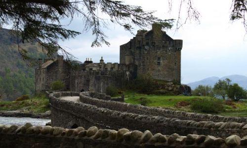 Zdjęcie SZKOCJA / Highlands / Highlands / Eilean Donan Castle