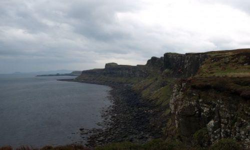 Zdjęcie SZKOCJA / Isle of Sky / Isle of Sky / Klify Hybrydów