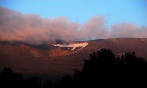 Zdjecie SZKOCJA / brak / Glenmoore Wildlife Park / zachód słońca w