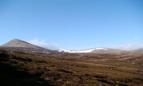 Zdjęcie SZKOCJA / Cairngorms Mountains / Glen More / na szlaku
