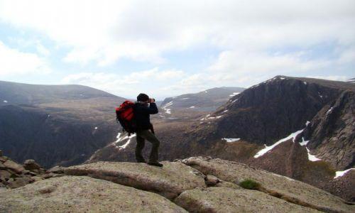 Zdjecie SZKOCJA / Cairngorms Mountains / Glen More / nareszcie w gorach !