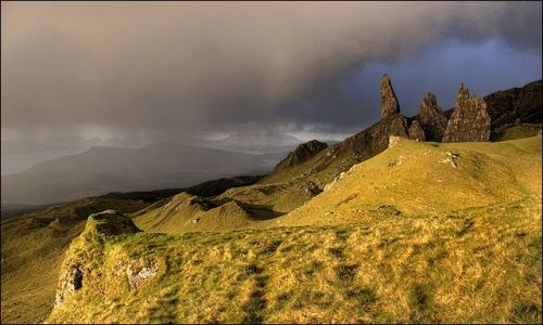 SZKOCJA / Isle of Skye / The Old Man of Storr / Amazing matinee