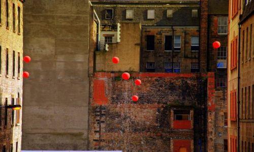 Zdjecie SZKOCJA / płn.-wsch. / Edinburgh / balony