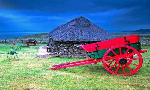 Zdjecie SZKOCJA / polnoca czesc wyspy / Skye Museum of Island Life / wyspa  Skye