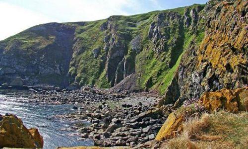 Zdjęcie SZKOCJA / South-- East  Scotland / Dunbar / Fast Castle Head
