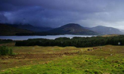 Zdjęcie SZKOCJA / Highland /  punkt widokowy na drodze A 87 / Glen  Moriston