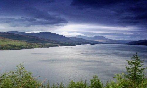 Zdjęcie SZKOCJA / Highland / Loch Carron / w drodze do Torrindon
