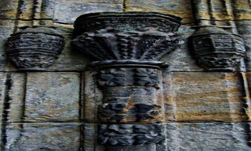 Zdjęcie SZKOCJA / East Lothian  okolice  Edinburgh / Roslin / elementy architektury Rosslyn Chapel