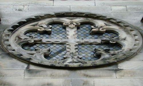 Zdjęcie SZKOCJA / East Lothian  okolice  Edinburgh / Roslin / Rosslyn Chapel  elementy architektury