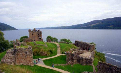 Zdjęcie SZKOCJA / Loch Ness / Loch Ness / Zamki Szkocki - Urquhart