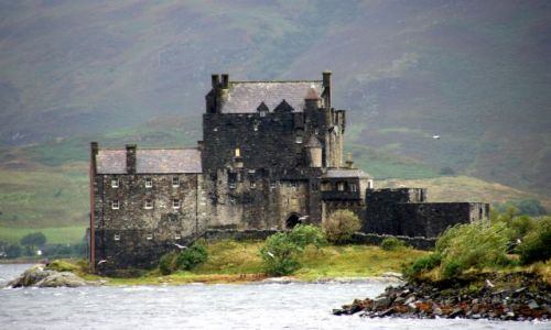 Zdjecie SZKOCJA / Pólnocna Szkocja / Pólnocna Szkocja / Zamki Szkocji - Eilean Donan