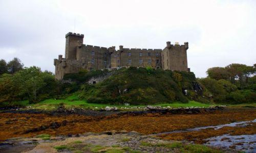 Zdjęcie SZKOCJA / Wyspa Skye / Wyspa Skye / Zamki Szkocji - Dunvegan