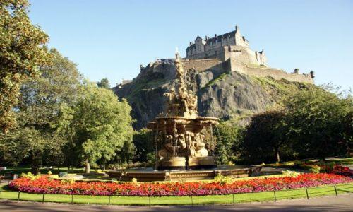Zdjęcie SZKOCJA / Południowa Szkocja / Edynburg / Zamki Szkocji - Edynburg