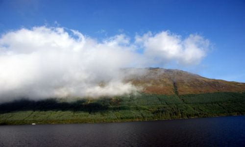 Zdjecie SZKOCJA / Loch Ness / Loch Ness / Pogoda w górach jest zmienna...