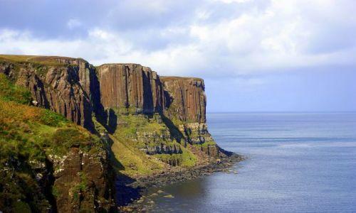 Zdjecie SZKOCJA / Wyspa Skye / Trotternish / Kilt Rock