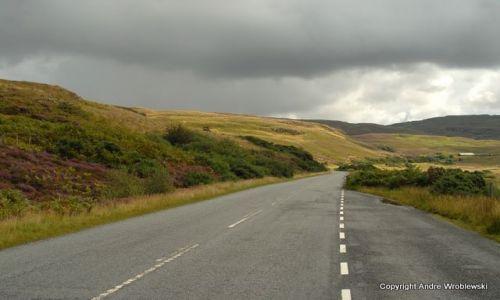 Zdjecie SZKOCJA / Isle of Skye / Isle of Skye / Puste drogi Isle of Skye