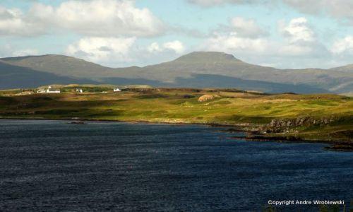 Zdjecie SZKOCJA / Isle of Skye / Isle of Skye / panorama Isle o