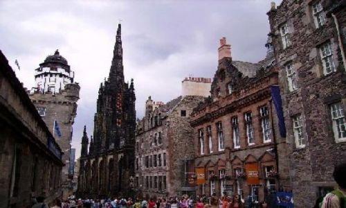 SZKOCJA / Południowa Szkocja / Edynburg / Royal Mile