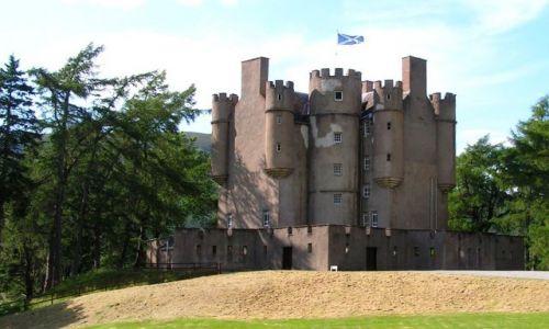Zdjęcie SZKOCJA / Szkocja / Okolice Aberdeen / Zamek na torfowiskach