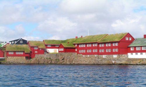 Zdjecie SZKOCJA / Wyspy Owcze / Thorshavn / Miejska zabudowa