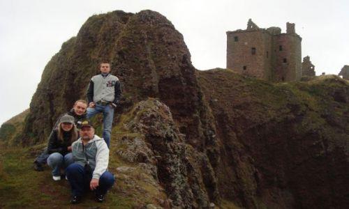 Zdjecie SZKOCJA / brak / Dunnottar Castle / czar miejsca