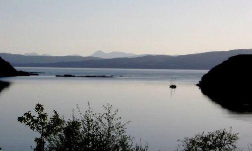 Zdjęcie SZKOCJA / Isle of Sky / Portree / Po zachodzie slonca