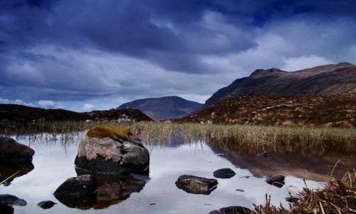 Zdjecie SZKOCJA / Highland / Brinn  Dearg / szkockie wedrow