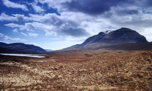 Zdjecie SZKOCJA / Highland / Glen Torridon /  Scotland - gor