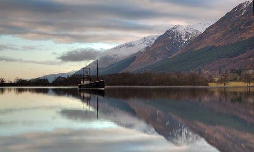 SZKOCJA / Highlands / Loch Lochy / Loch Lochy