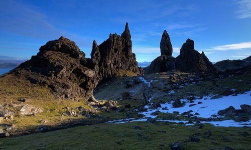 Zdjecie SZKOCJA / Isle of Skye / Isle of Skye / Old Man of Storr