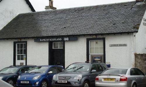 Zdjecie SZKOCJA / - / Inveraray / Główna siedziba Bank Scotland
