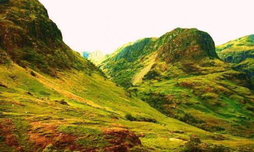 Zdjęcie SZKOCJA / - / Szkocja / W Górach
